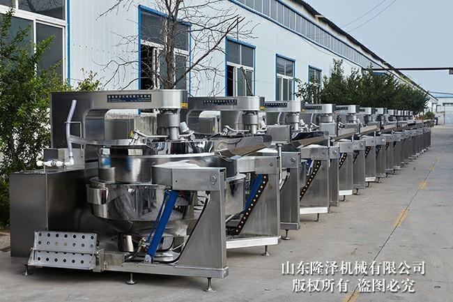 衡阳电磁加热炒菜机_自动大型炒菜机器设备厂家
